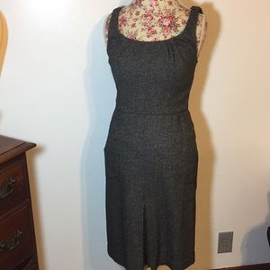 Ann Taylor brand woman's sz 2 dress wool blend